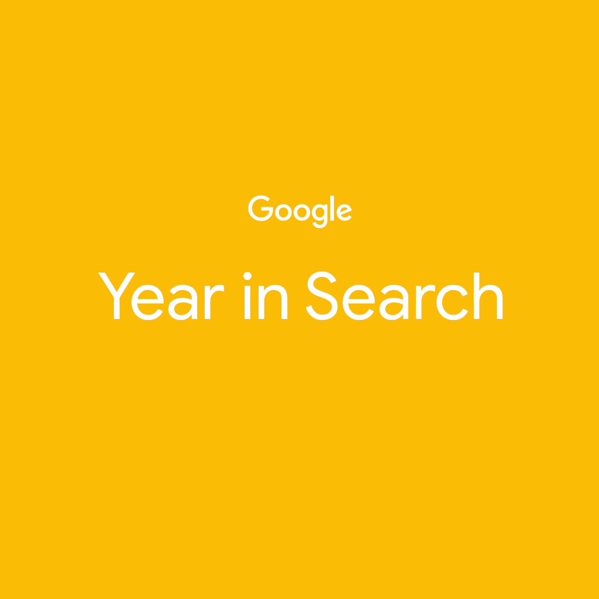 Google Year 2019 in Search