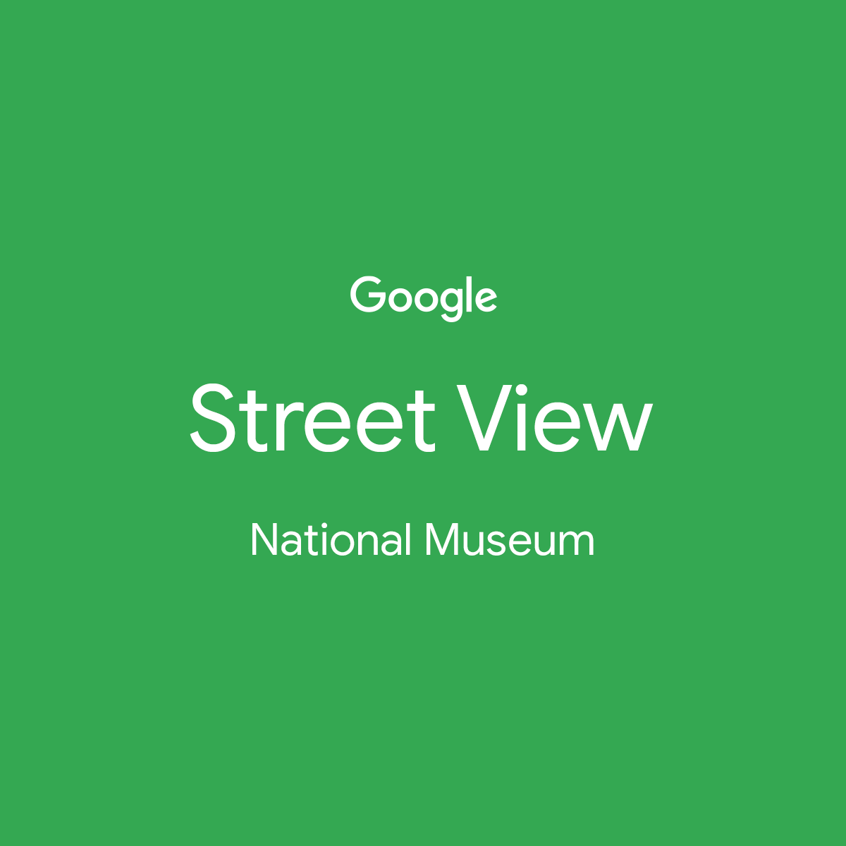 Google Streetview – National Museum